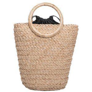 Melie Bianco Bags - Tiffany Natural Straw Bag